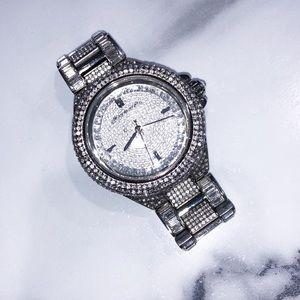 Michael Kors Camille Glitz Pave Watch MK5869